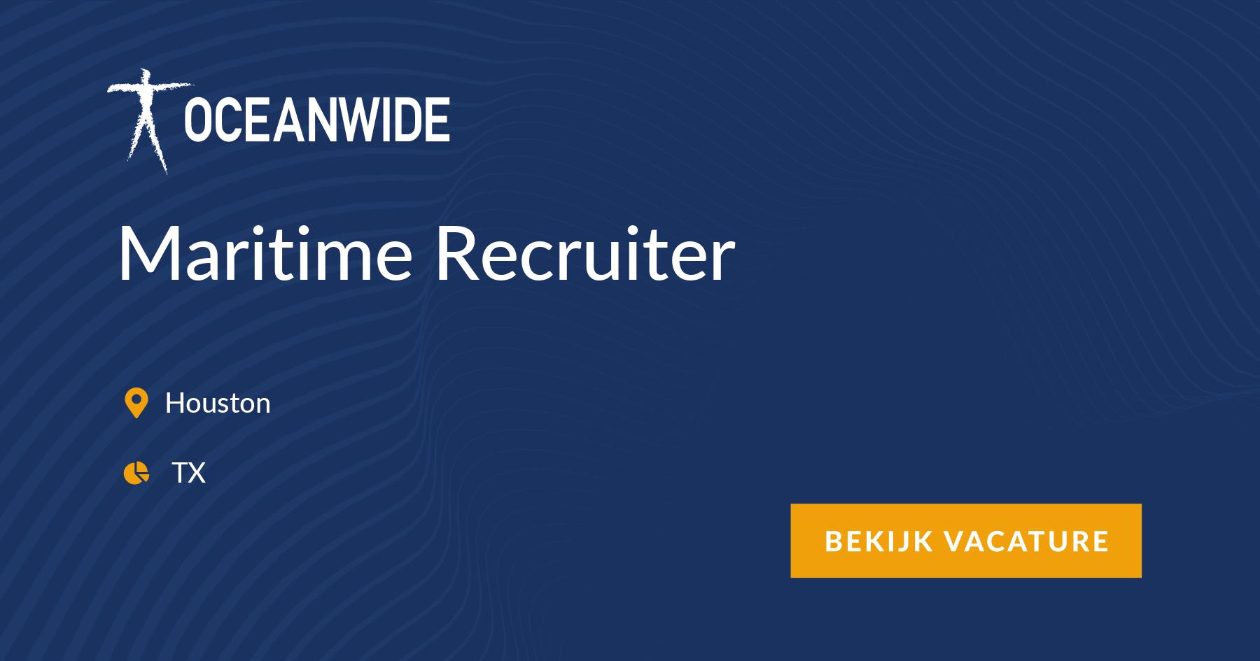 Maritime Recruiter, Houston, TX - maritime vacancy ~ Oceanwide
